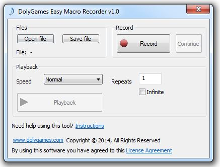 DolyGames Easy Macro Recorder