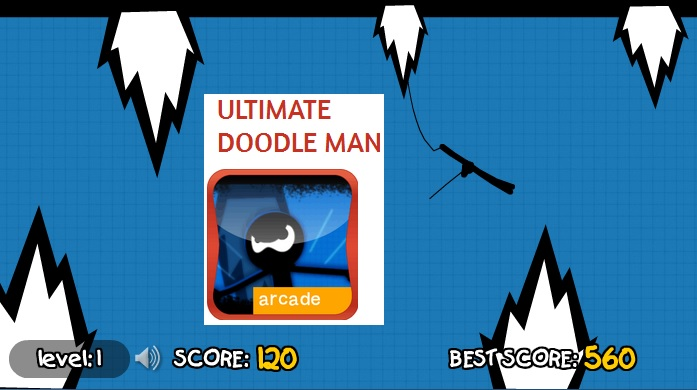Ultimate Doodle Man – PLAY FREE – Climbing FLASH Game