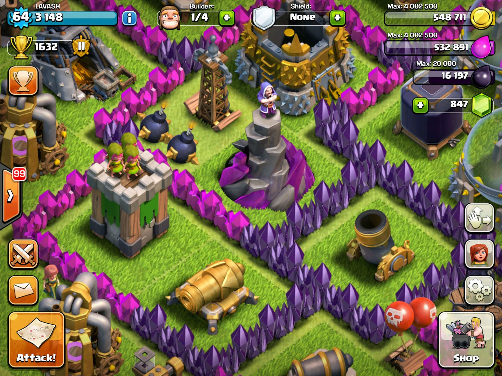 All Different Towers Together [Clash of Clans]