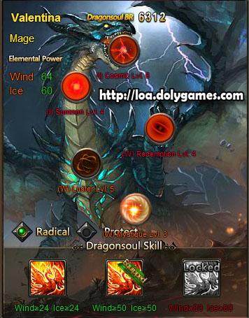 Valentina's Dragonsoul Orbs