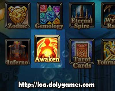 LOA Game Update 3,0383 - Awaken Icon
