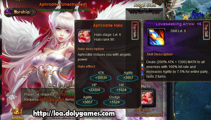 LOA New Version 3,0375 - New Angel Aphrodite