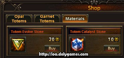 Evolving Totems Guide - Evolve Stone and Catalyst