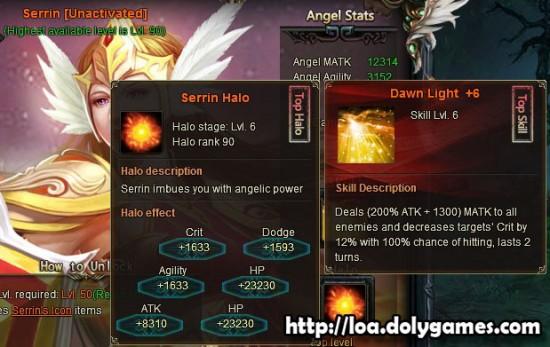 LOA Game Update 3.0389 - Serrin Angel