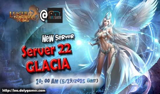 New LOA Server 22 Glacia