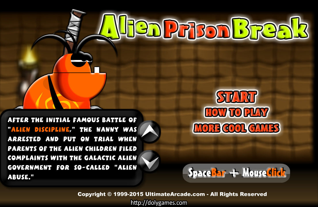 Alien Prison Break – Play Free