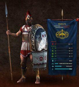 SPARTA Hoplites unit