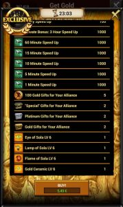 Game of War 5 EUR pack 3
