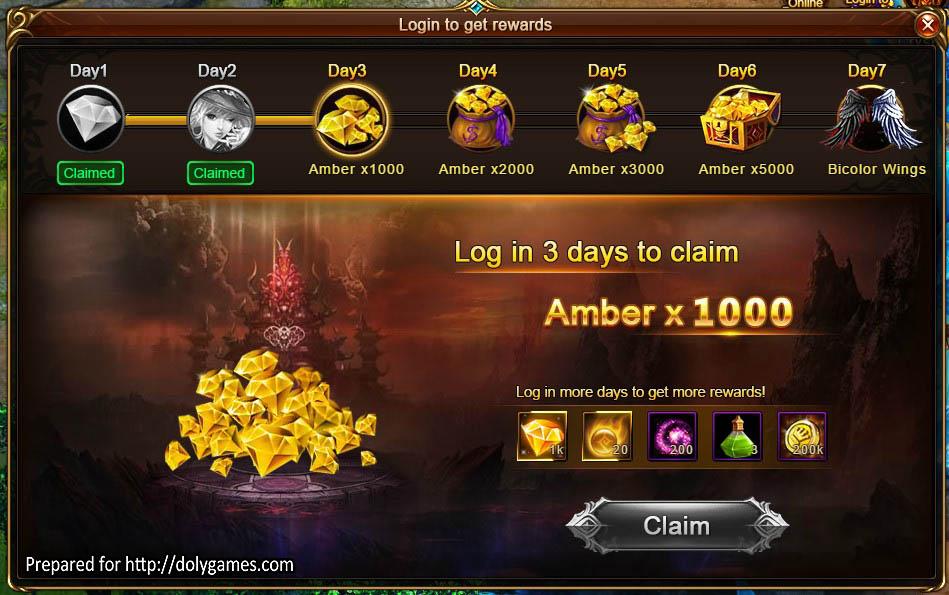 dragon login games
