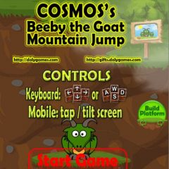 Beeby the Goat Mountain Jump – Play Free – by Cosmos