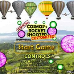 Rocket Shooter – Customization #1 – Play Free – by COSMOS DolyGames