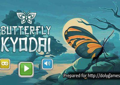 Butterfly Kyodai logo - PLAY FREE