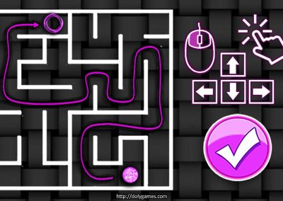 Cosmos's Maze Puzzle 2 game screenshot. DolyGames