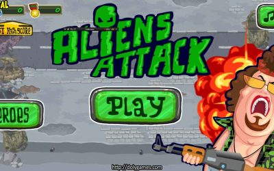Aliens Attack – FUN Action – PLAY FREE