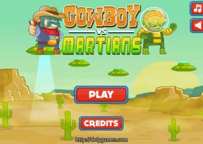 Cowboy vs Martians - PLAY FREE copy