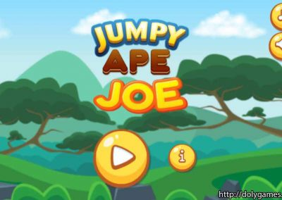 Jumpy Ape Joe - PLAY FREE